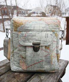 betz white Jet Pack Bag, sewn by Cindy G