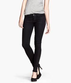 H&M, skinny low jeans, size 26/30, black, $9.95