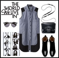 """""""The World we live in"""" by nicolisandra ❤ liked on Polyvore"""