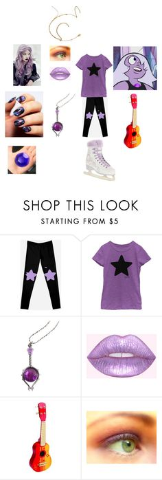 """""""Summer's Fandom Steven Universe Amethyst themed ice skating costume"""" by katieluv2sing18 ❤ liked on Polyvore featuring Cartoon Network and Hape"""