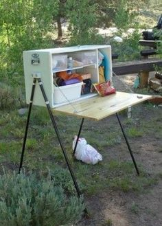 DIY Camp Kitchen - rugged life