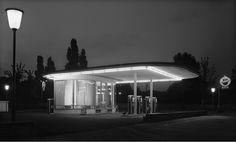 Karl Hugo Schmölz, Tankstelle Ecke Oskar-Jäger-Straße, 1952