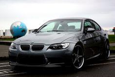 "BMW 3 series 20"" ASANTI E92 SG 20""x9 - 20""x10.5 wrapped in NITTO INVO AF157 grey 5 star"