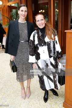 Writer Danielle Steel with her daughter Samantha Traina attend the Chanel show as part of the Paris Fashion Week Womenswear Fall/Winter on March 2015 in Paris, France. Fashion Bible, Danielle Steel, Style Icons, Evening Gowns, Ball Gowns, Writer, Women Wear, Daughter, Vogue