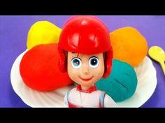PAW PATROL Play Doh Ice Cream Surprise Eggs Nickelodeon Toys PUPS Zuma Rocky Skye Rubble & Ryder