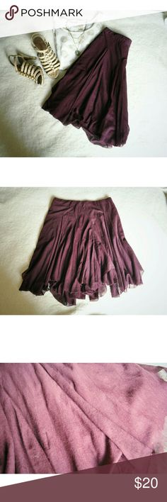 "Ralph Lauren Burgundy Skirt Like New Size Small, true to size Length ""21 68% Cotton, 32% Nylon  No stains, rips, or tears I am always available to answer your questions, just let me know! :) Ralph Lauren Skirts"