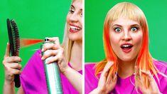 Makeup Life Hacks, Hair Hacks, Makeup Tricks, Natural Beauty Tips, Diy Beauty, Beauty Hacks, Beauty Life Hacks Videos, Diy Crafts For Girls, Diy Crafts Hacks