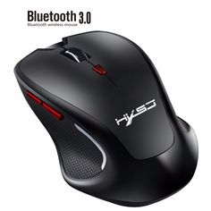 Black Wireless Mouse Keyboard Wireless Mouse X60 2.4GHz 2400DPI Three-Speed Adjustable Rechargeable Vertical Wireless Optical Gaming Mouse Color : Black New Bluetooth