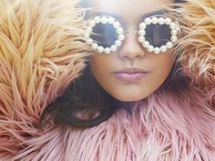 Pearl #Sunglasses and loads of #Fur