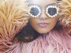 Pearl #Sunglasses and loads of #Fur