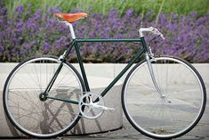 Racing Green Metallic Singlespeed | Flickr - Photo Sharing!