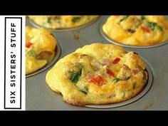 Egg Muffins make the perfect healthy on-the-go breakfast- load with as many vegetables as you like! These Scrambled Egg Breakfast Muffins are a MUST HAVE! Breakfast Muffins, Breakfast Dishes, Breakfast Recipes, Egg Muffins, Breakfast Burritos, Quick And Easy Breakfast, Perfect Breakfast, Scrambled Eggs, Brunch Recipes