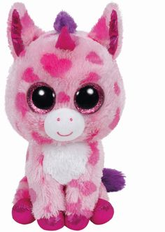 Beanie Boos - Sugar Pie/Einhorn pinkgepunktet 15cm Spielwaren Figuren Beanies
