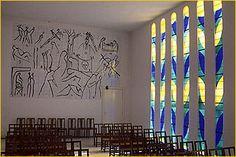 Chapelle du Rosaire, Vence, France - designed & decorated by Matisse