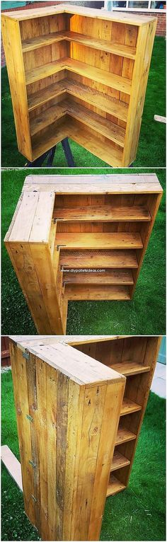 Setting your house with remarkable rustic shelving cabinet idea is the splendid idea. No count what material of the wood pallet you are inclusive of i … – image pin 2 Wooden Pallet Table, Wooden Pallets, Pallet Benches, Pallet Tables, Pallet Bar, 1001 Pallets, Outdoor Pallet, Pallet Sofa, Pallet Wall Shelves