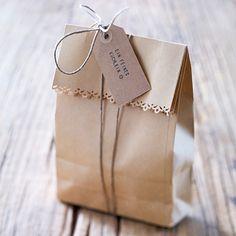 Geschenktüten -  Verpackungen für süße Sachen - lunchtuete  Rezept