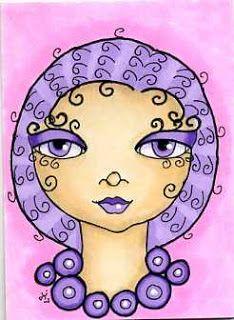 dots n doodles: 29 Faces Art Challenge -  #16