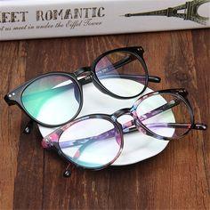 9f982c7e2 2017 new cheapest Fashion Retro men's glasses frame plain women's  eyeglasses spectacle female eyewear oculos de