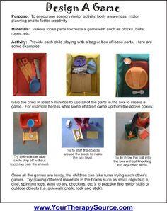 great sensory games