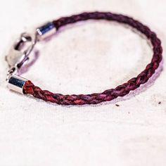 Archer Heights Bracelet in Tan Deerskin, 7 3/4 Inch, Men's or Women's — Sample Sale