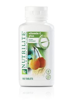 109747 - NUTRILITE® Vitamin C Plus Extended Release.  Your body uses vitamin C's immune-boosting benefits more effectively with this time-release formula. Get all-day defense and eliminate the waste associated with instant-release vitamin C doses. NUTRILITE Vitamin C Plus Extended Release uses one of nature's most concentrated sources of vitamin C – acerola cherries – grown on our own certified organic farms.