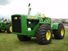 #JohnDeere 8010. The first JD 4WD tractor.