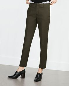 COTTON TROUSERS-New this week-Woman-COLLECTION AW15 | ZARA United States