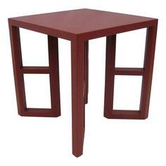 Postmodern Design Karl Springer Style Table