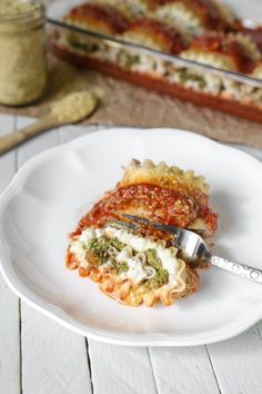 Gluten-Free Kale Pesto Lasagna Roll-Ups | Vegan, Soy-Free | The Plant Philosophy
