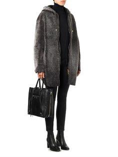 Balenciaga Papier A5 leather tote