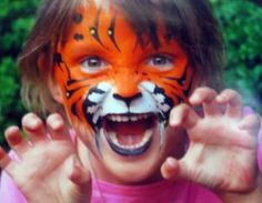 Make your own face paint, rather than spending money on something you'll lose the day after Halloween. ;)