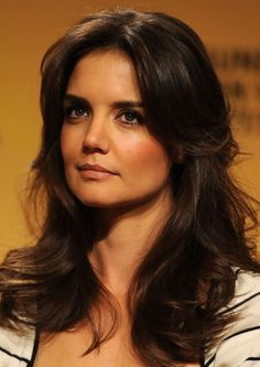 Katie Holmes Layered Hairstyle