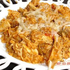Mexican Chicken and Rice Recipe.