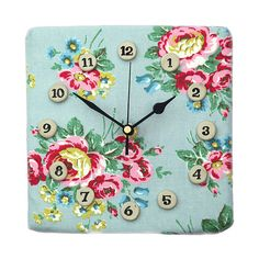 cover a clock with fabric x