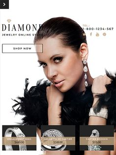 Jewelry Shopify Theme http://www.templatemonster.com/shopify-themes/57894.html