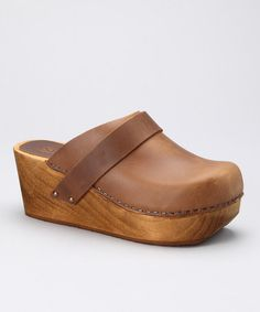 Take a look at this Dark Brown Wegner Clog - Women by Sanita Clogs on #zulily today!