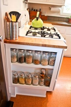 Great idea for narrow space