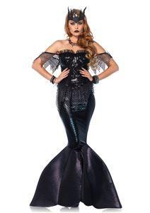 Dark Water Siren Adult Womens Costume - 372473 | trendyhalloween.com