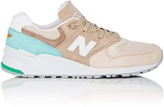 Great for spring: New Balance Men's 999 Suede Sneakers