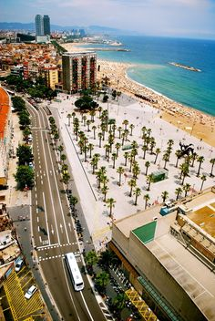 [Image Source] Barcelona is a Spanish city, capital of the autonomous community of Catalonia and the second largest city in the country. The urban area of Barcelona extends beyond the administrative city limits. Places Around The World, The Places Youll Go, Travel Around The World, Places To See, Around The Worlds, Barcelona Beach, Barcelona Travel, Barcelona Catalonia, Wonderful Places