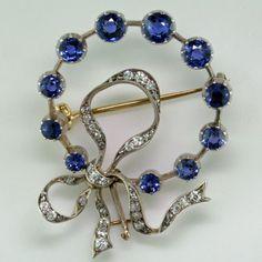 Diamond Brooch, Silver Brooch, Diamond Jewelry, Gemstone Jewelry, Sapphire Diamond, Blue Sapphire, Uncut Diamond, Diamond Pendant, Diamond Rings