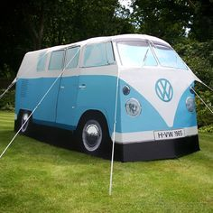 VW Camper Tent Cute! Know someone who would die to get this :)