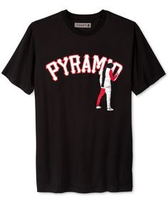 Black Pyramid Men s Graffiti Logo T-Shirt Men - T-Shirts - Macy s e7de97d22
