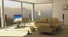 Donde poner el sofá y la televisión en el salón