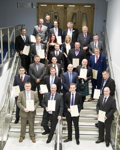 The winners of the 2015 Certificate of Merit Awards, organised by the West of Scotland Branch