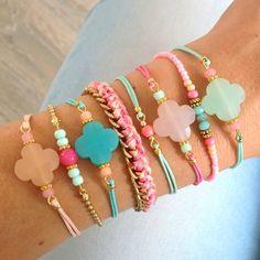 Mint15 - Lucky Clover bracelets & others www.mint15.nl