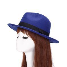 New Arrival Men Fedora Hats for Women Wide Brim Black Ribbon Hats Trilby Gangster Trendy Jazz Caps Chapeaux Pour Hommes 1MZ0652