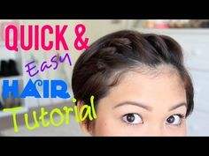 Quick & Easy Hair Tutorial for PIXIE HAIR! - YouTube