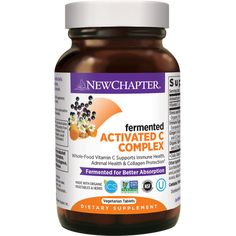 Support your immune system with Fermented Activated C Complex, made with organic herbs and vegetables. Learn more about our powerful, Fermented daily formula! Organic Turmeric, Organic Herbs, Organic Vegetables, Vitamin C Gummies, Zinc Foods, Whole Food Vitamins, Antioxidant Supplements, Adrenal Health