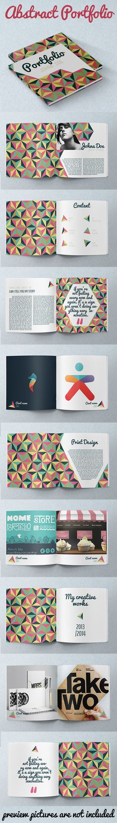 15 Beautiful Print Ready Business Brochure Designs – András Halák 15 Beautiful Print Ready Business Brochure Designs Portfolio inspiration Good: design and page layout, colour choices, and inspirational quotes To Be Better: no triangles, different font Portfolio Design, Book Portfolio, Portfolio Layout, Personal Portfolio, Web Design, Book Design, Layout Design, Print Design, Cv Inspiration